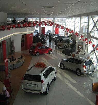 Сервис Тойота в Омске