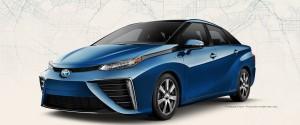 Новая Toyota Mirai работает на водороде